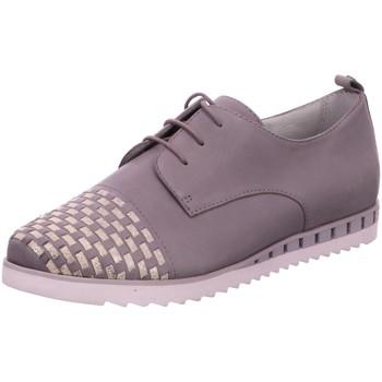 Schuhe Damen Derby-Schuhe & Richelieu Be Natural Schnuerschuhe Da.-Schnürer 8-8-23203-28/204 grau