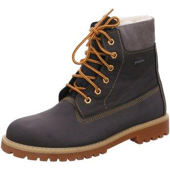 Schuhe Jungen Boots Däumling Schnuerstiefel 080031S/82 grau