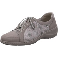 Schuhe Damen Derby-Schuhe & Richelieu Waldläufer Schnuerschuhe Kya Weite K grau