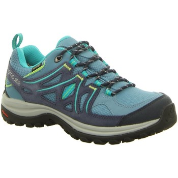 Schuhe Damen Fitness / Training Salomon Sportschuhe ELLIPSE 2 GTX® W L37864300 blau