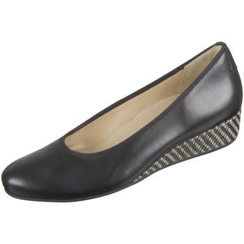 Schuhe Damen Ballerinas Hassia Nizza H 5-302100-0100 schwarz