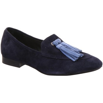Schuhe Damen Slipper Donna Carolina Slipper 33135159 blau