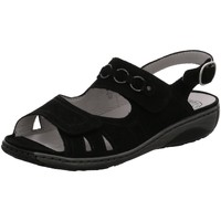 Schuhe Damen Sandalen / Sandaletten Waldläufer Sandaletten NV 210004-191/001 schwarz