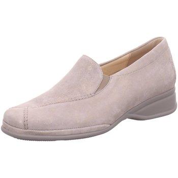 Schuhe Damen Slipper Semler Komfort METALL-VELOUR R1635031 028 beige