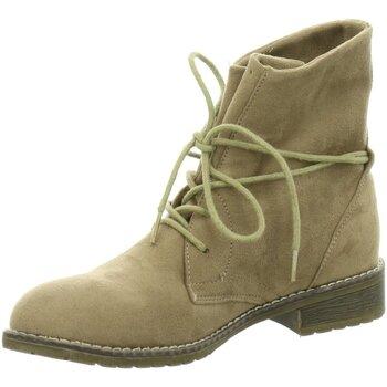 Schuhe Damen Boots Pep Step Stiefeletten 251109 DL 252169280 beige