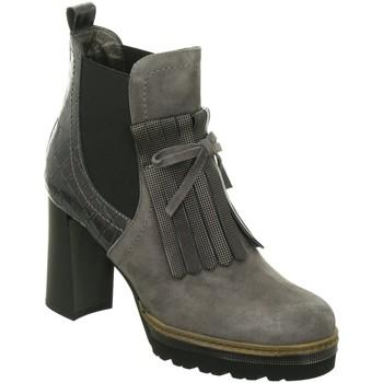 Schuhe Damen Boots Maripé Stiefeletten F2213 23525-50 grau