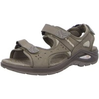 Schuhe Damen Sportliche Sandalen Lowa Sandaletten Urbano WS 420371 4133 grau