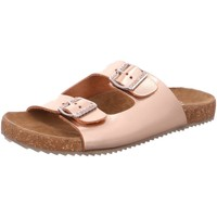 Schuhe Damen Pantoletten / Clogs Fidelio Pantoletten Gerda,Messing Chevrostretch/Fi 245013/63 gold