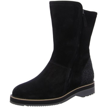 Schuhe Damen Stiefel Paul Green Stiefel 8052 8052-011 schwarz