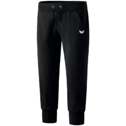Kleidung Damen Jogginghosen Erima Sport sweatpants 3/4 length 210200 schwarz