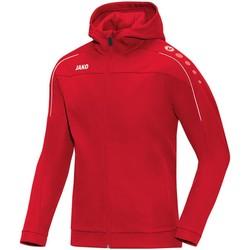 Kleidung Herren Trainingsjacken Jako Sport Kapuzenjacke Classico H 6850 01 rot
