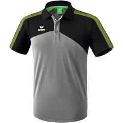 Kleidung Herren Polohemden Erima Sport Premium One 2.0 Poloshirt Grau Schwarz Grün 1111806 Other