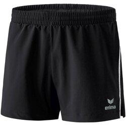 Kleidung Damen Shorts / Bermudas Erima Sport running short 809601 950 schwarz
