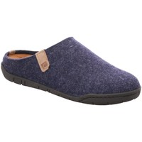 Schuhe Herren Hausschuhe Rohde Filz grau 6650-51 blau