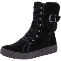 Schuhe Mädchen Stiefel Lurchi Schnuerstiefel 331320921/21 21 schwarz
