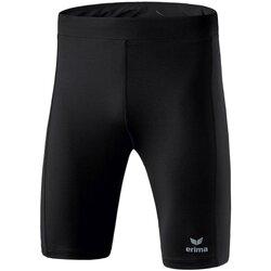 Kleidung Herren Hosen Erima Sport Bekleidung PERFORMANCE running tights sho 8290703 950 schwarz