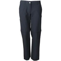 Kleidung Jungen Jogginghosen High Colorado Sport NOS CHUR 3-L Da.Trekkinghose, Zip 1032782 7003 grau