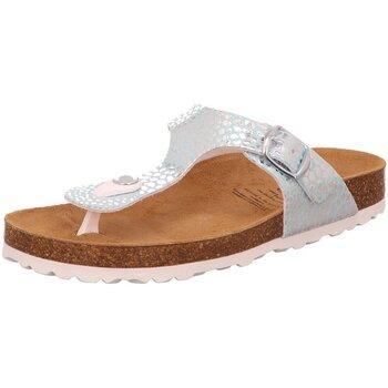 Schuhe Mädchen Sandalen / Sandaletten Brütting Schuhe Biloline 560195 silber