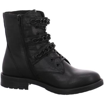 Schuhe Damen Boots Dna Stiefeletten -Bootie C40-3508-01 schwarz