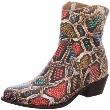 Schuhe Damen Low Boots Lazamani Stiefeletten 67.020 animal