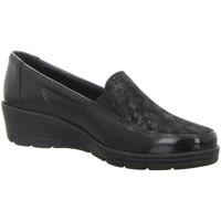 Schuhe Damen Slipper Longo Slipper schwarz