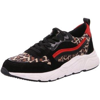 Schuhe Damen Sneaker Low Divina Poelmann P5614POE13 schwarz