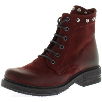 Schuhe Damen Stiefel Macakitzbühel Stiefeletten 2543 rot