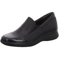 Schuhe Damen Slipper Semler Slipper K-LACK/SOFT-NAPPA R2025529/001 schwarz