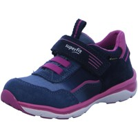 Schuhe Mädchen Sneaker Low Superfit Schnuerschuhe 0-609241-8200 blau