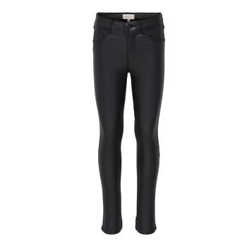Kleidung Mädchen Slim Fit Jeans Only KONROYAL Schwarz