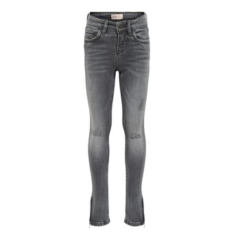 Kleidung Mädchen Slim Fit Jeans Only KONKENDEL Grau