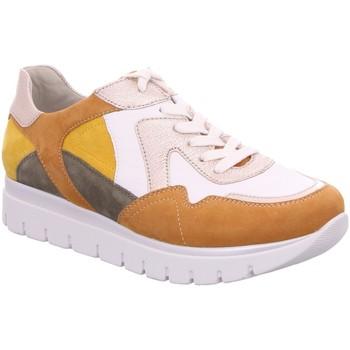 Schuhe Damen Sneaker Low Semler Schnuerschuhe S-CH/S-N/KASHM. S2035297/997 weiß