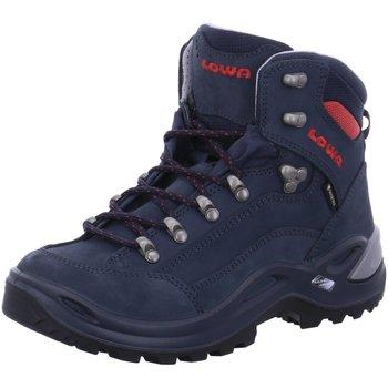 Schuhe Jungen Wanderschuhe Lowa Sportschuhe Renegade GTX Mid 320945-6962 blau