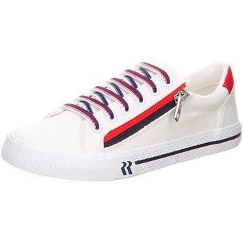 Schuhe Damen Sneaker Low Westland Schnuerschuhe SYA weiß