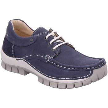 Schuhe Herren Derby-Schuhe Wolky Schnuerschuhe FLY 0470111 820 blau