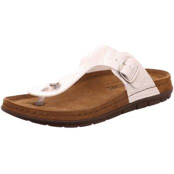Schuhe Damen Zehensandalen Rohde Pantoletten 5868,89 weiß