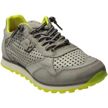 Schuhe Herren Sneaker Low Cetti Schnuerschuhe Sneaker stone C848 grau