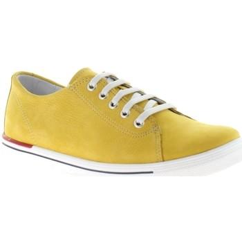Schuhe Damen Sneaker Low Micio Low 515090,467 mais gelb