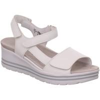 Schuhe Damen Sandalen / Sandaletten Waldläufer Sandaletten H-Michelle weiß