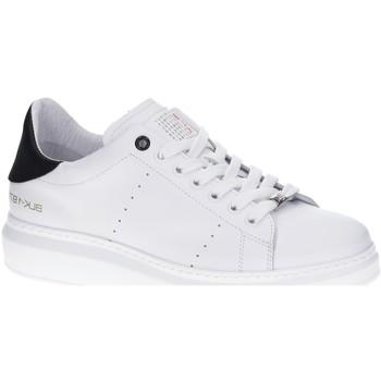 Schuhe Damen Sneaker Low Black SchnUErhalbschuh sportlich/Sne weiß