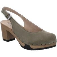Schuhe Damen Sandalen / Sandaletten Softclox S3520-04 oliv