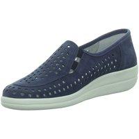 Schuhe Damen Slipper Longo Slipper Bequemslipper,blue 1045286 blau