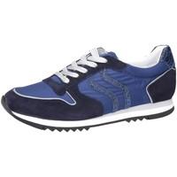 Schuhe Damen Sneaker Low Maripé Camoscio Abyss Limon 125 30250-5463-8 blau