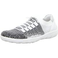 Schuhe Damen Sneaker Low Remonte Dorndorf Slipper R3514-81 weiß