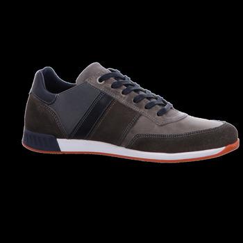 Schuhe Herren Sneaker Low Bullboxer Schnuerschuhe Sneaker 850-K2-0030A-GYNT grau