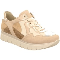 Schuhe Damen Sneaker Low Semler Schnuerschuhe Silvia -H- S 2035.309.999 beige