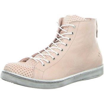 Schuhe Damen Boots Andrea Conti Stiefeletten 0345728144 rosa