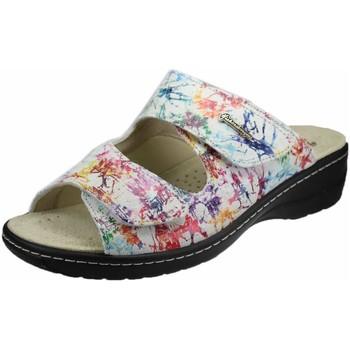 Schuhe Damen Pantoffel Hickersberger Pantoletten 2819 8016 weiß