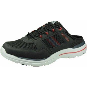 Schuhe Damen Pantoletten / Clogs Dockers by Gerli Slipper -chili 46BN002-607100 schwarz