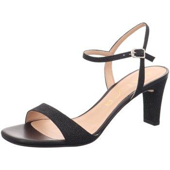 Schuhe Damen Sandalen / Sandaletten Unisa Sandaletten Mechi black schwarz